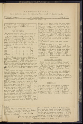 Schakels (clubbladen) 1945-10-25