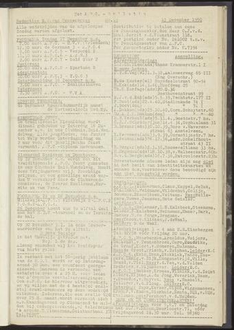 Bulletins (vnl. opstellingen) 1950-12-13