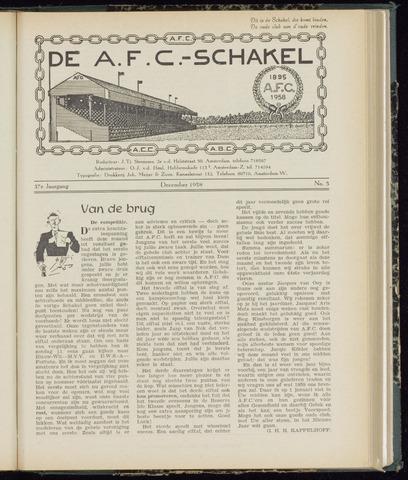 Schakels (clubbladen) 1958-12-01
