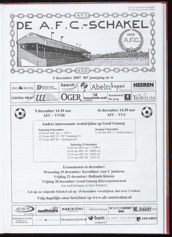 Schakels (clubbladen) 2007-12-05
