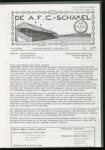 Schakels (clubbladen) 1976-09-01
