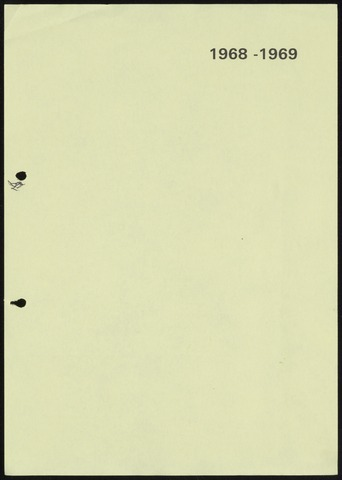 Jaarverslagen 1969-06-01