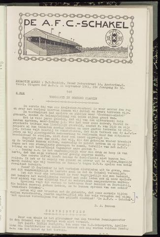 Schakels (clubbladen) 1941-09-11