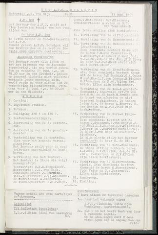 Bulletins (vnl. opstellingen) 1961-06-14