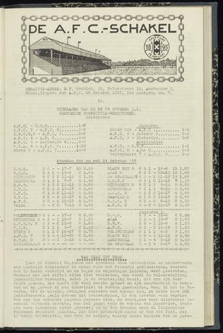 Schakels (clubbladen) 1937-10-28