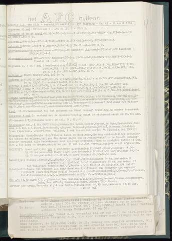 Bulletins (vnl. opstellingen) 1964-04-29