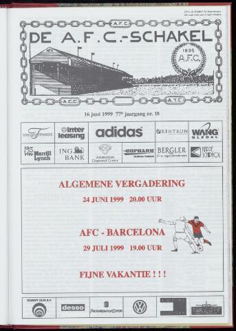 Schakels (clubbladen) 1999-06-16