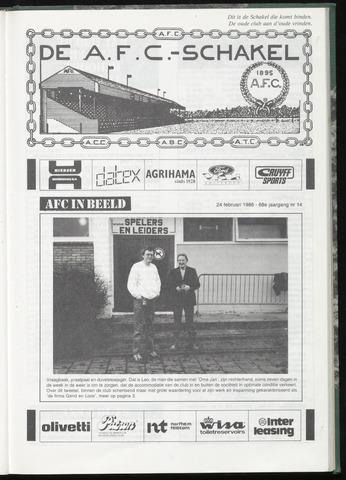 Schakels (clubbladen) 1988-02-24