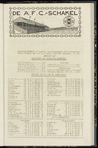 Schakels (clubbladen) 1940-04-04