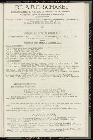 Schakels (clubbladen) 1943-01-21