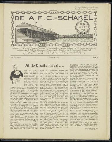 Schakels (clubbladen) 1952