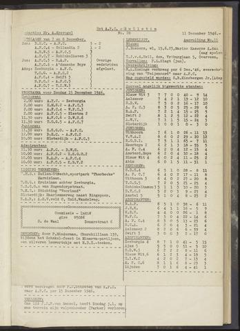 Bulletins (vnl. opstellingen) 1946-12-11
