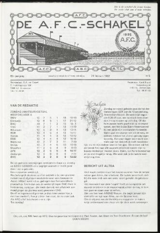 Schakels (clubbladen) 1982-02-24