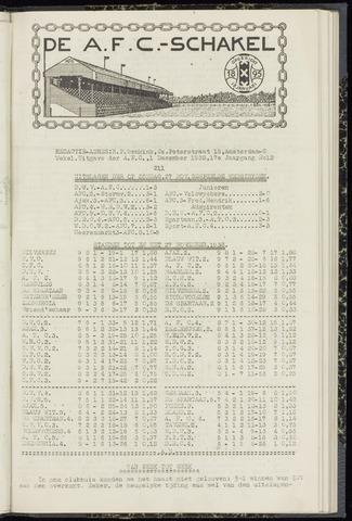 Schakels (clubbladen) 1938-12-01