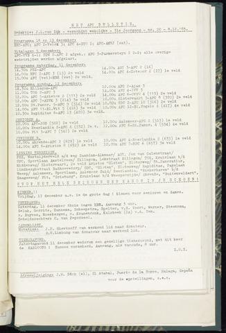 Bulletins (vnl. opstellingen) 1965-12-08