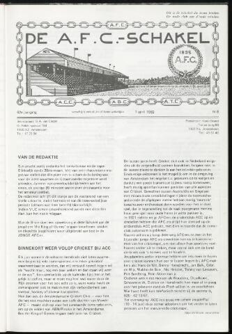 Schakels (clubbladen) 1982-04-07