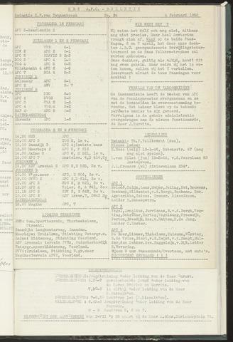 Bulletins (vnl. opstellingen) 1958-02-05