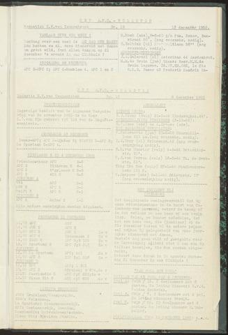 Bulletins (vnl. opstellingen) 1955-12-06
