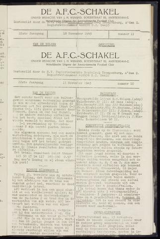 Schakels (clubbladen) 1943-11-11