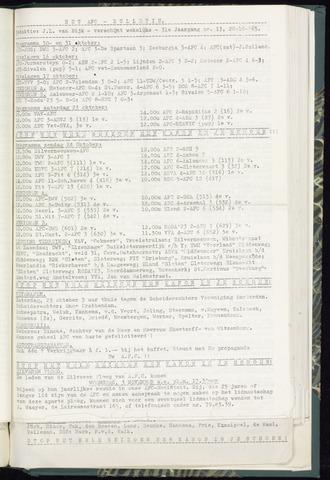 Bulletins (vnl. opstellingen) 1965-10-20