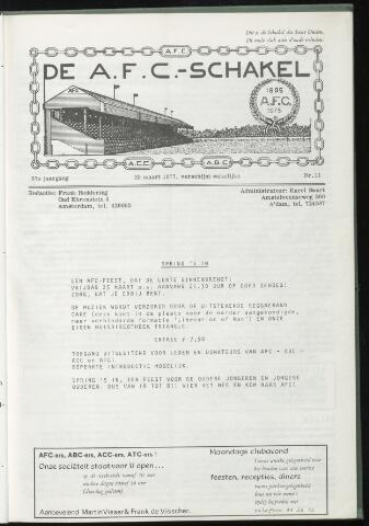 Schakels (clubbladen) 1977-03-23