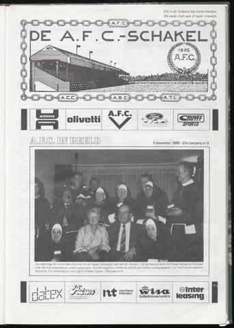 Schakels (clubbladen) 1986-12-03