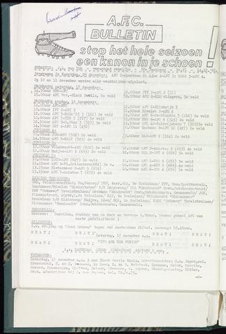 Bulletins (vnl. opstellingen) 1966-12-14