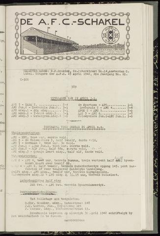 Schakels (clubbladen) 1942-04-23