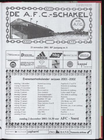 Schakels (clubbladen) 2001-11-21