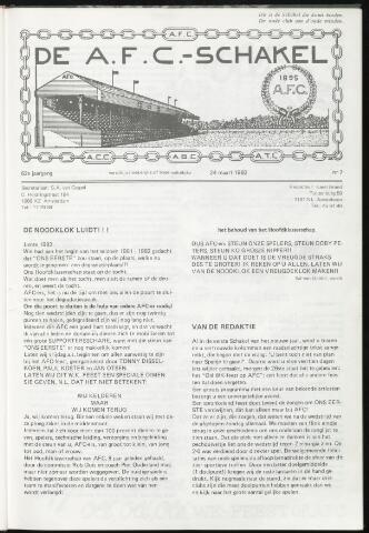 Schakels (clubbladen) 1982-03-24