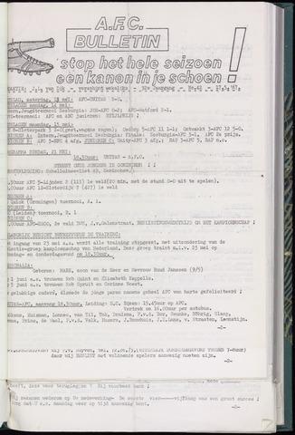 Bulletins (vnl. opstellingen) 1967-05-17