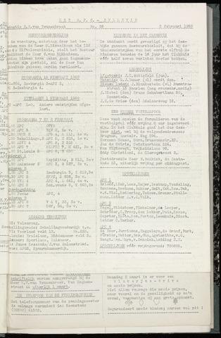Bulletins (vnl. opstellingen) 1959-02-04