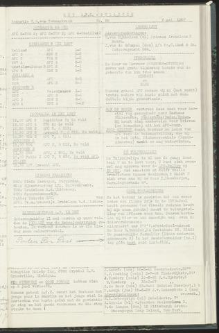 Bulletins (vnl. opstellingen) 1957-05-07