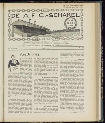 Schakels (clubbladen) 1958-06-01