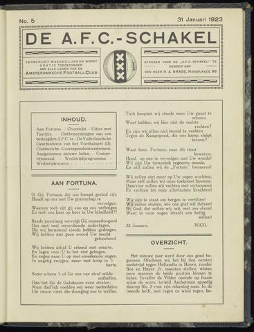 Schakels (clubbladen) 1923-12-31