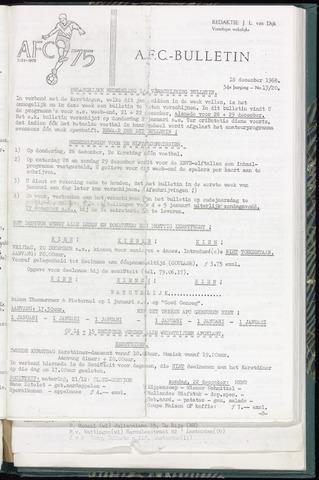 Bulletins (vnl. opstellingen) 1968-12-18