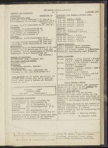 Bulletins (vnl. opstellingen) 1947