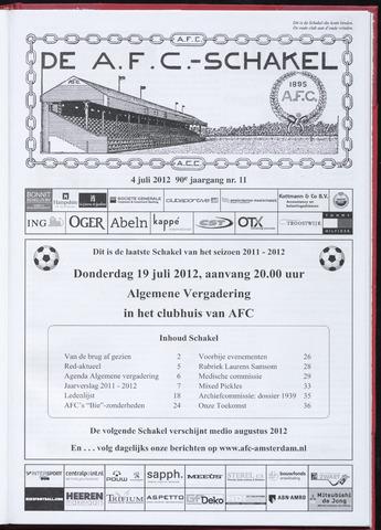 Schakels (clubbladen) 2012-07-19