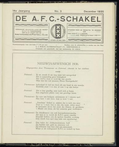 Schakels (clubbladen) 1935-12-01