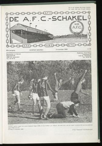 Schakels (clubbladen) 1980-11-05
