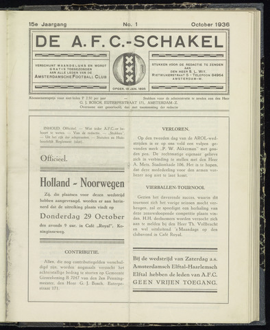 Schakels (clubbladen) 1936-10-01