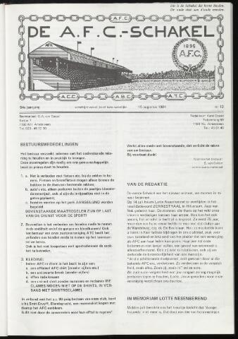 Schakels (clubbladen) 1984-08-15
