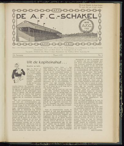 Schakels (clubbladen) 1955-03-01