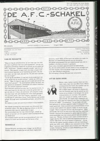 Schakels (clubbladen) 1983-04-13