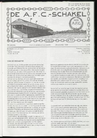 Schakels (clubbladen) 1984-09-26
