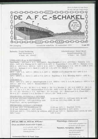 Schakels (clubbladen) 1976-09-29