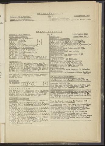 Bulletins (vnl. opstellingen) 1948-09-01