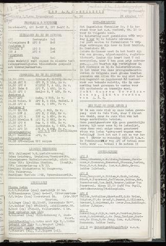 Bulletins (vnl. opstellingen) 1960-10-25