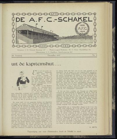Schakels (clubbladen) 1947-12-01