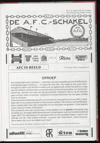 Schakels (clubbladen) 1990-11-14